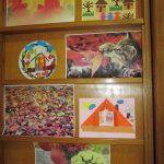 """""""Ulița copilăriei"""" – expoziție de machete, desene și colaje, relizate cu diferite tehnici"""